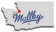 Location of Maltby in Washington state